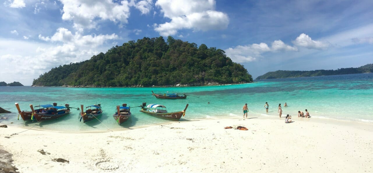 Koh Rokroy, one of the most beautiful islands visited during my stay in Koh Lipe.