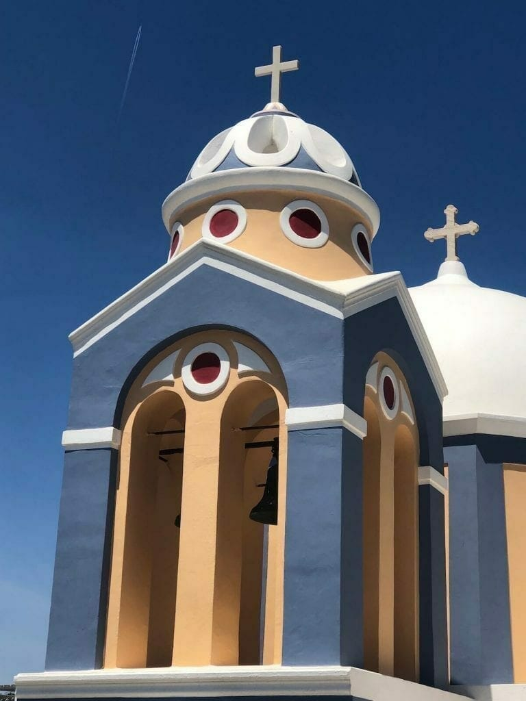 The Catholic Church of St. Stylianos, Santorini