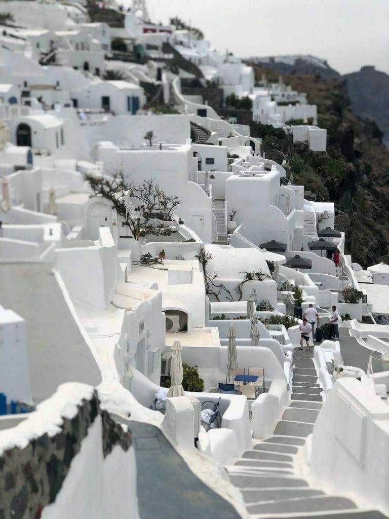 Whitewashed houses, Oia, Santorini