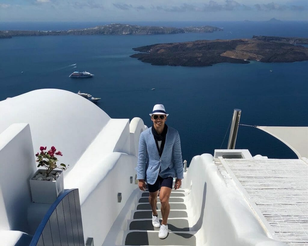 What to Wear in Santorini – Best Men's Outfits for Greece