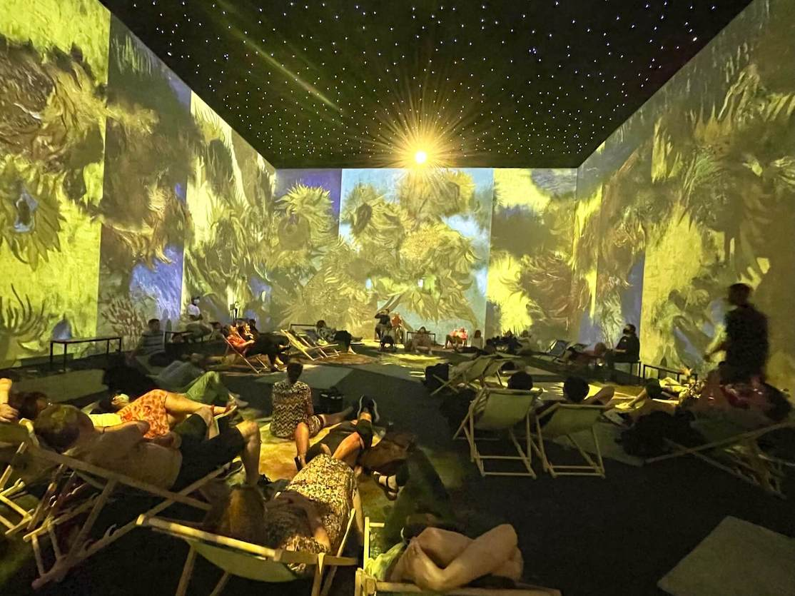 Visiting The Van Gogh Immersive Experience London